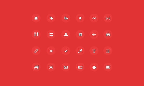 Sharp Pixel Icons