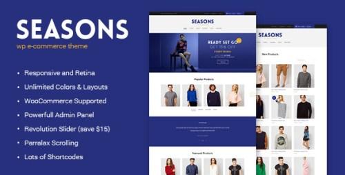Seasons - WordPress eCommerce Theme