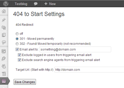 404 to Start