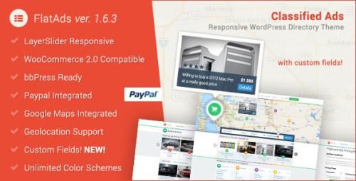 FlatAds - Classified AdsWordPress Theme