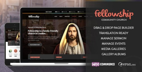 FellowShip - Church WordPress Theme