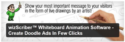 wizScriber Whiteboard Animation Software