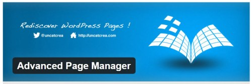 Advanced Page Manager