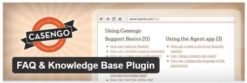 FAQ & Knowledge Base Plugin