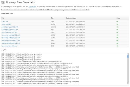 Sitemap Files Generator