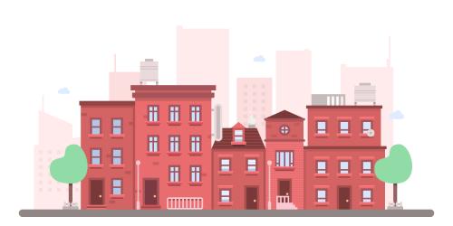 Flat cityspace
