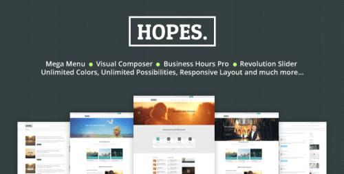 Hopes - Church & Multi-Purpose WordPress Theme