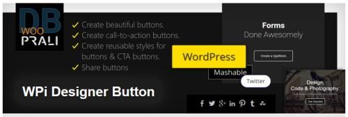 how to use wpi designer button in sydney theme wordpress