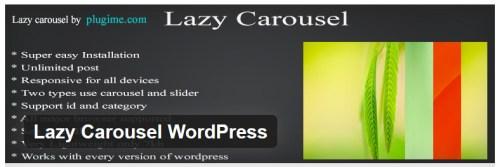 Lazy Carousel WordPress