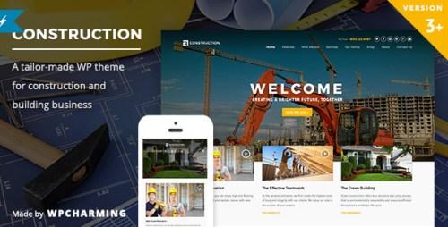 Construction - WP Construction, Building Business Theme