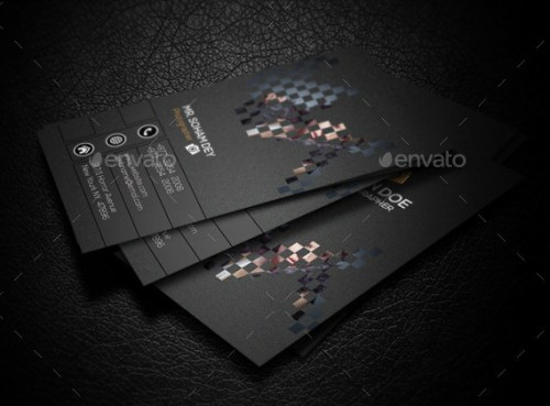 Cool Photography Business Card