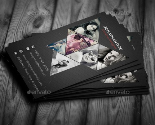 20 creative photography business card templates wpalkane vertical photography business card reheart Gallery
