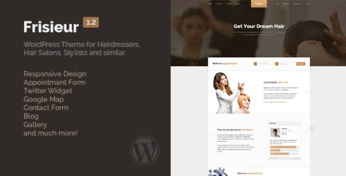 Frisieur - WordPress Theme for Hair Salons