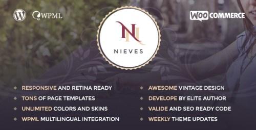 Nieves - Beauty Salon WordPress Theme