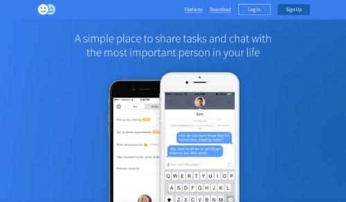Duo - HTML5 App Landing Page
