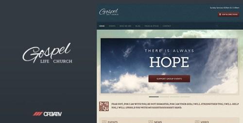 Gospel - Premium Responsive WordPress Theme