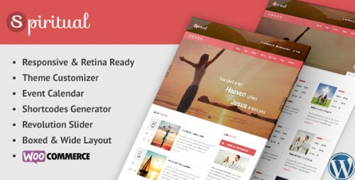 Spiritual - Responsive Church WordPress Theme