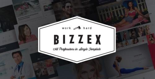 Bizzex - Modern Flat Portfolio Theme