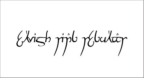 Elvish Ring NFI Font