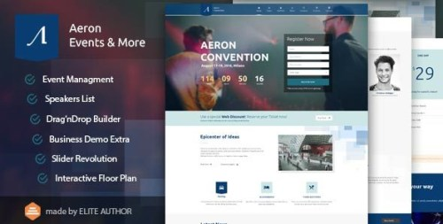 Aeron - Expo WordPress Themes