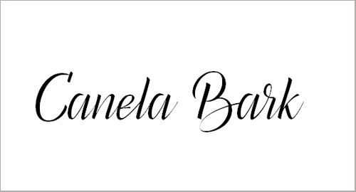Canela Bark Personal Use Font