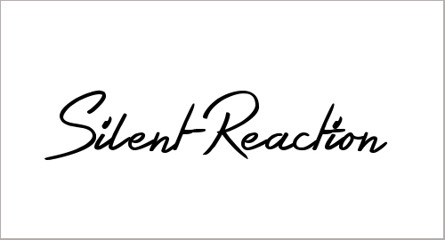 Silent Reaction Font