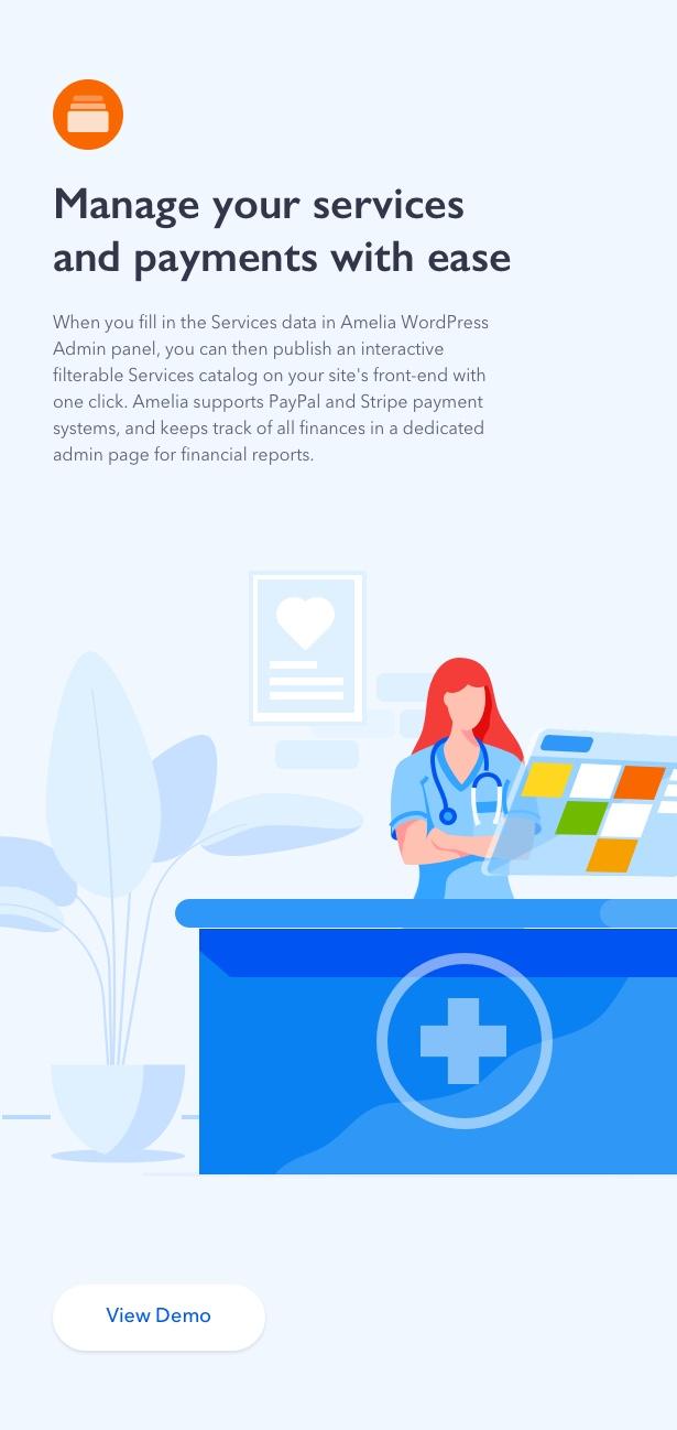 Amelia - Enterprise-Level Appointment Booking WordPress Plugin - 5