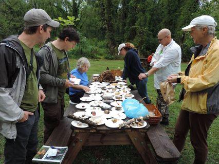 A full table. Adam Haritan