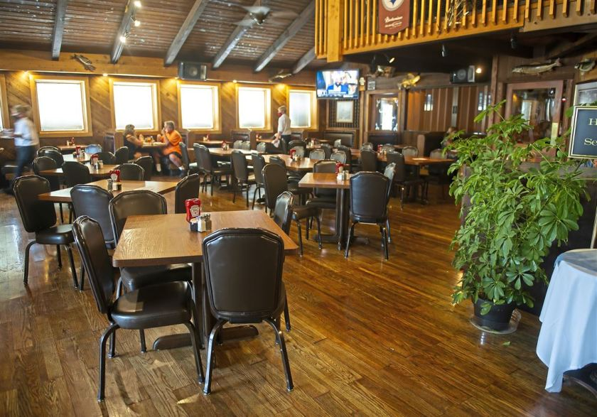 The dining room at Al's Cafe on Friday, Aug. 14, 2020 in Bethel Park.