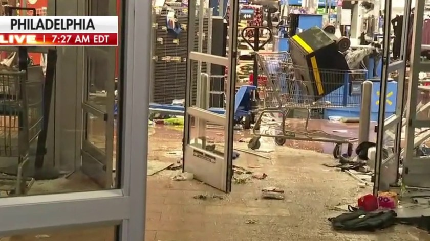 Philadelphia rioting, looting continues after police shooting