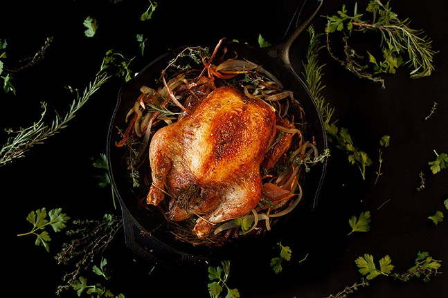 Thanksgiving turkey at Spirits and Tales - PHOTO: COURTESY OF SPIRITS & TALES