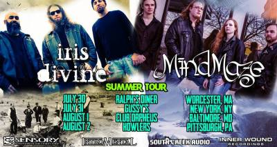 MindMaze and Iris Divine Tour