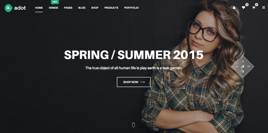 Top 20+ Clean & Responsive eCommerce WordPress Themes 2016
