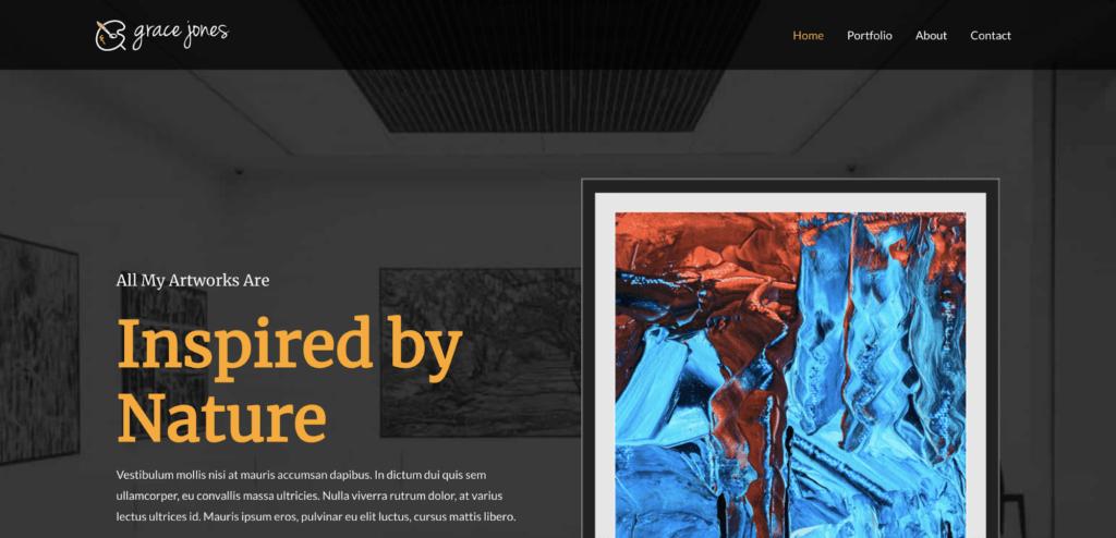artist astra starter site