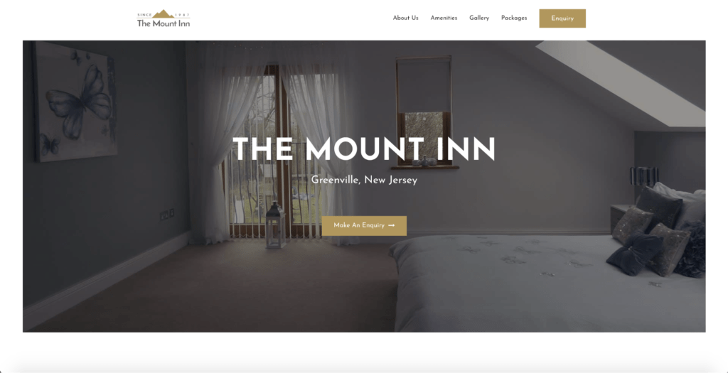 hotel and bnb astra starter site
