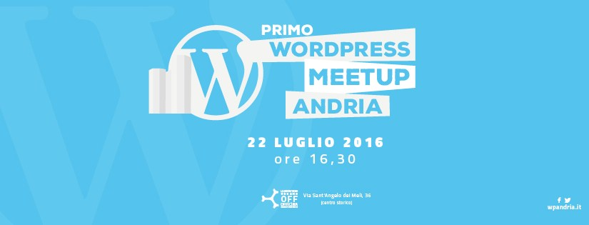E giunse il WordPress meetup Andria