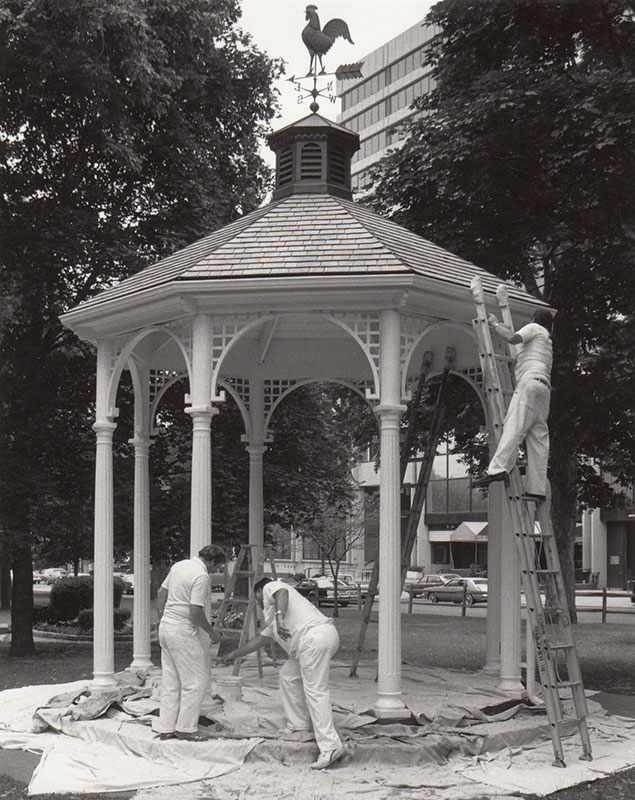 Maintaining the Gazebo