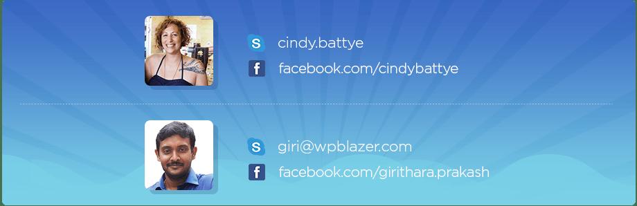 contact Cindy Donovan