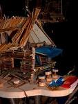 Kunstunterricht Baumhäuser