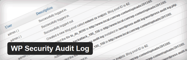 Plugin de WP Security Audit Log para Controlar la Actividad de la Administracion