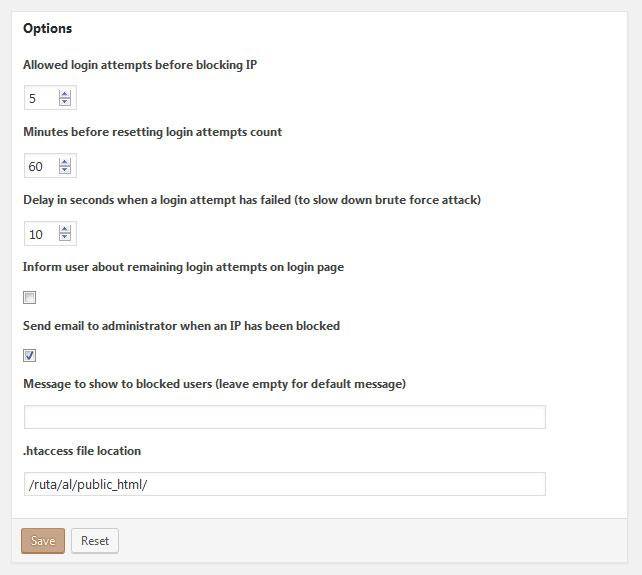 Configurar Plugin Brute Force Login Protection para Proteger WordPress Conta Acceso con Ataque de Fuerza Bruta