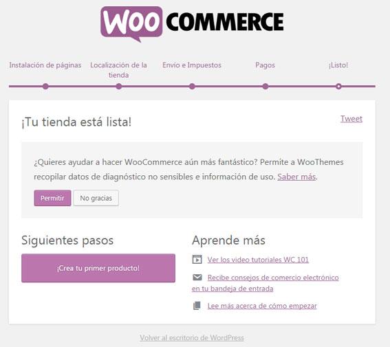 Publicar producto en tienda virtual con plugin WooCommerce en WordPress