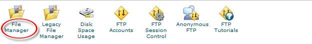 Editar archivos en WordPress del panel de control cpanel