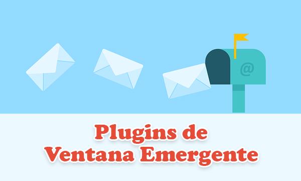 5 Gratuitos plugins de ventana emergente de WordPress para crear un formulario de suscripción Optin