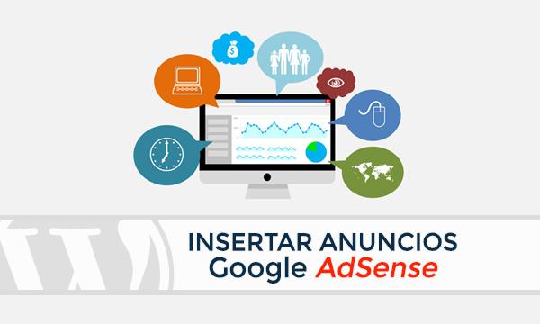 Insertar anuncios de Google AdSense en WordPress