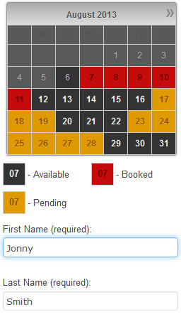 Booking Calendar  WordPress plugin receive bookings easily