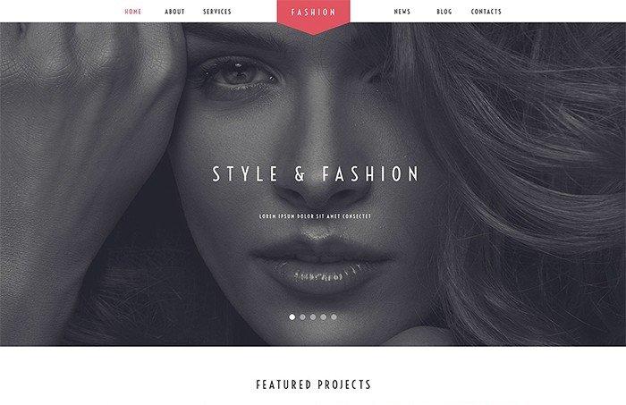 Fashion Stylist Salon WordPress Theme