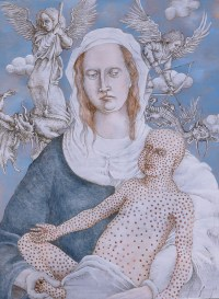 Zoonotic Madonna and Child- Smallpox