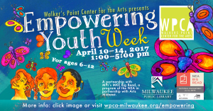 Afternoons with Art (AwA) - Empowering Youth Week