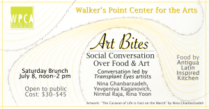 Art Bites - Social conversation over food and art